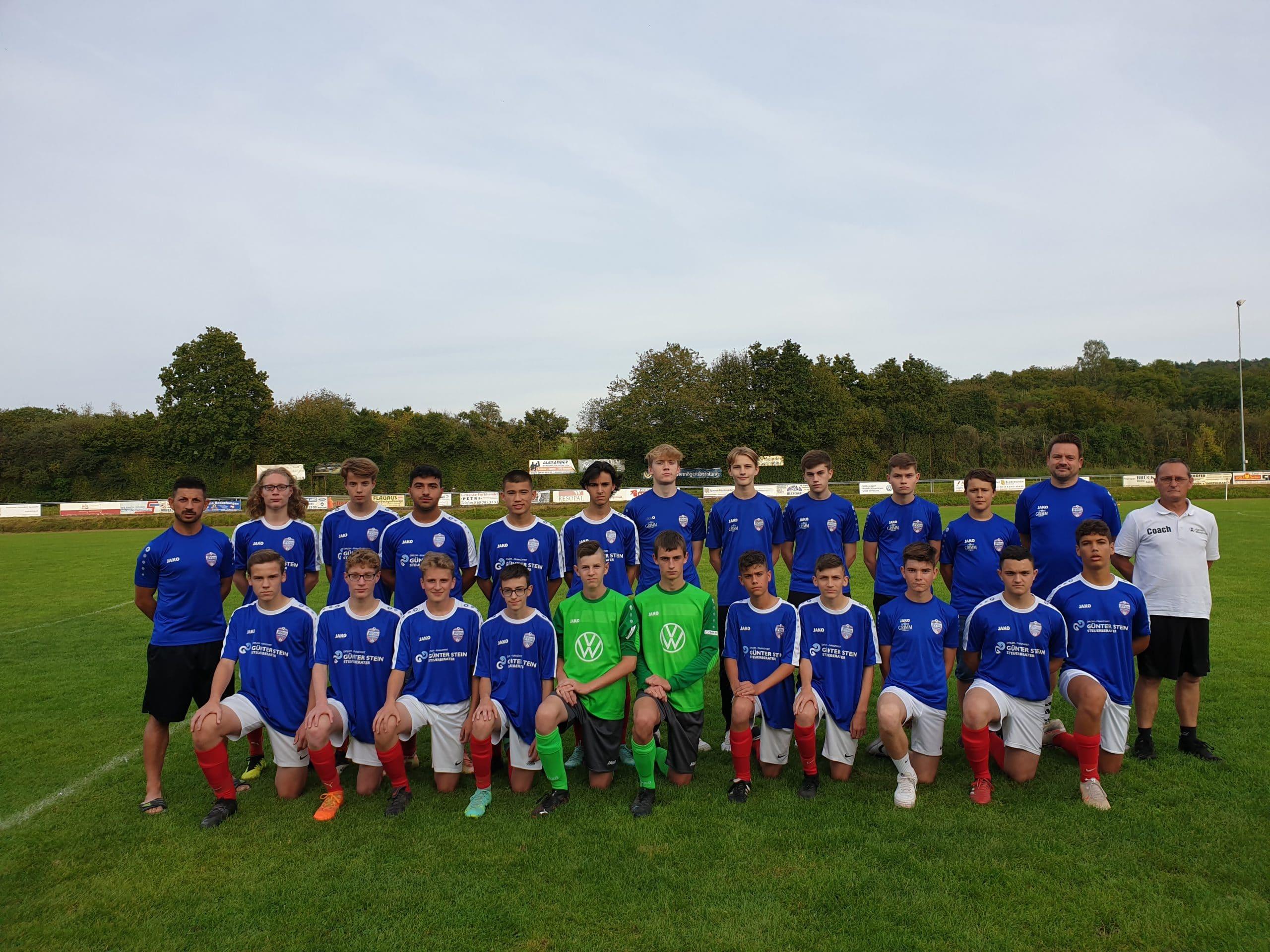 JFV C1 Mannschaft